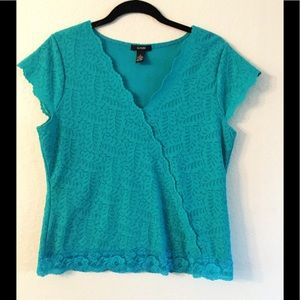 Alfani Lace Top